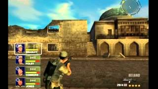 Conflict Desert Storm 2 PS2 Gameplay STREET BATTLE Playthrough Part 2
