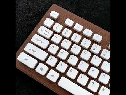 Making wood keyboard