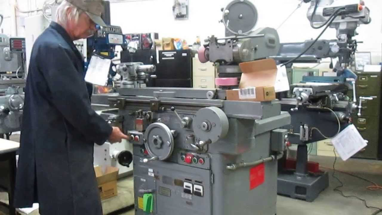 Tool And Cutter Grinder ~ Used gallmeyer livingston tool cutter grinder in