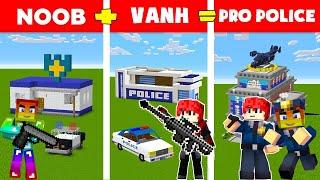 Thử Thách 24 Giờ Làm Công An Bắt Cướp Ngân Hàng Trong Minecraft