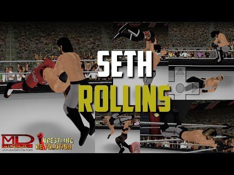 Seth Rollins Highlights - Wrestling Revolution 3D