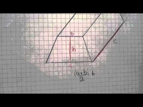 Mathe: Volumen eines Trapezprisma brechnen - Volumen berechnen from YouTube · Duration:  26 seconds