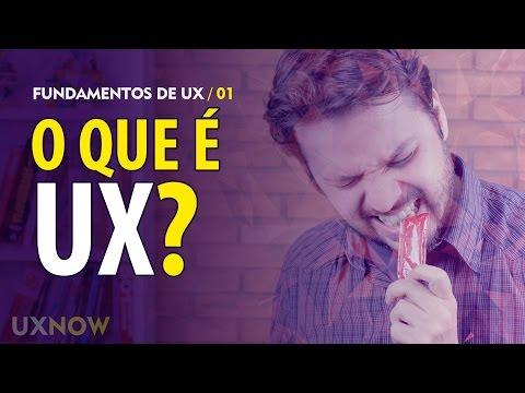 O que é UX? // UXNOW