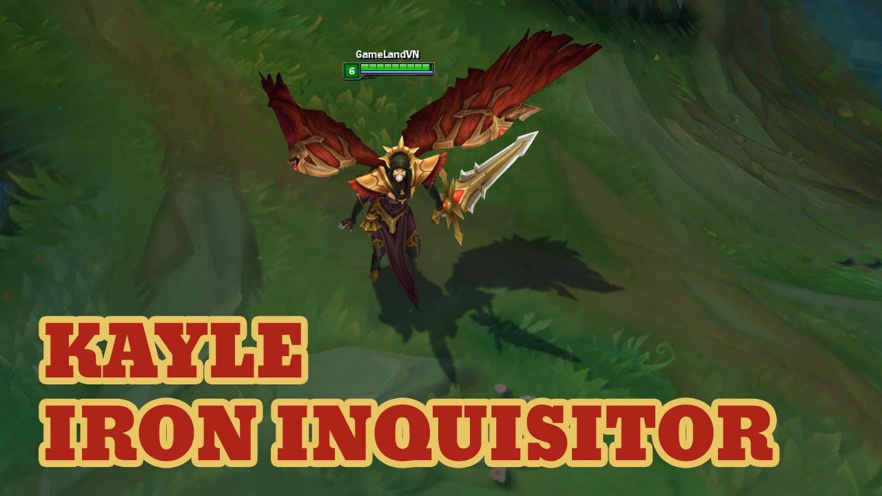 LOL PBE 4/19/2016: New skin Iron Inquisitor Kayle