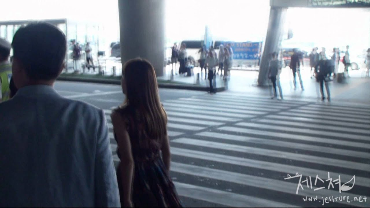 110821 Jessica @ Incheon Int'l Airport