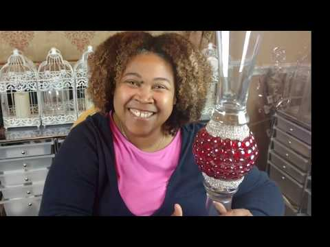 DIY| Glam Trumpets of Love Tall Vase| Event Planner Dollar Tree project Series 1