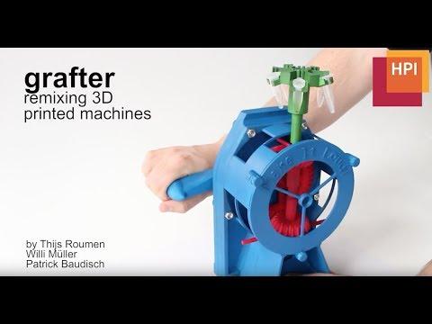 0 - Grafter 3D-Software erlaubt das Zusammensetzen von mechanischen Bauteilen