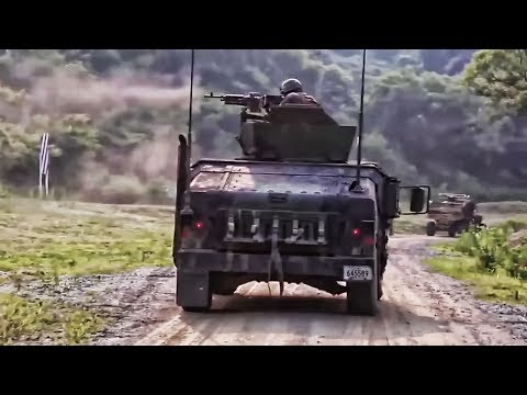 U.S. Marines Continue Live-Fire Exercises In South Korea