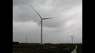 Windtestfeld Husum mit Enercon, Senvion, GE, Siemens und Nordex Prototypen 9/2017