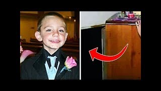 This Boy Missing For 2 Years, Then Someone Told Cops To Look Behind The Dresser !!
