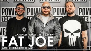 Fat Joe on 'Family Ties' Album, Kanye West Questioning His Lyricism & Passing On Eminem