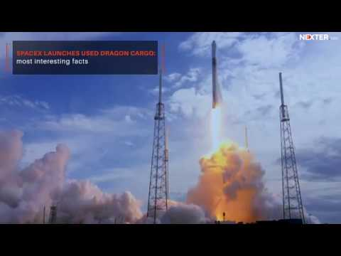 SpaceX launches used Dragon cargo to deliver supplies and space junk remover to ISS!
