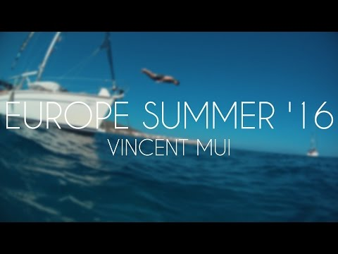 A month in Europe Summer