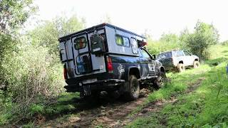 How to make your own off road camper - movado camper - slide in pickup camper