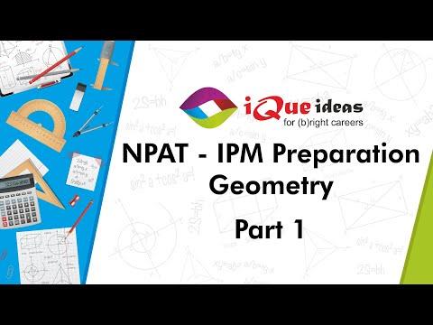 NPAT - IPM Session Geometry 1