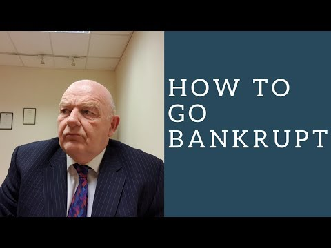 The New Bankruptcy Procedure In Ireland 2014-How To Go Bankrupt