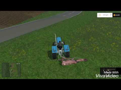 Farming Simulator 15 Akcija seno UTH map (Dolenjska)
