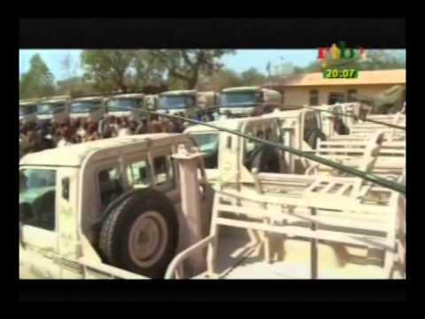 Coopération militaire  les Etats Unis offrent du matériel  au Burkina Faso