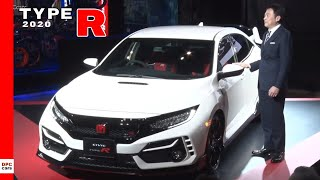 2020 Honda Civic Type R Reveal