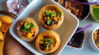 Perfect Pani Puri Recipe With Tips