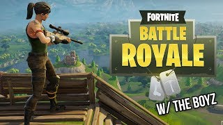 GETTING CARRIED ON DUOS WITH THE BOYZ! - Fortnite Bataille Royale