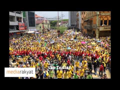 Suara Rakyat. People's Voice. 人民之声.  (Narrated by Anwar Ibrahim)