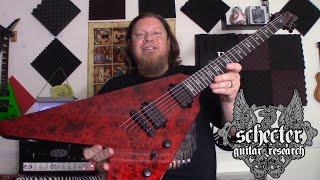 Schecter Guitars - V1 Apocalypse Red Reign - Demo