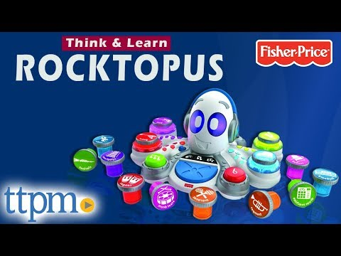 Think & Learn Rocktopus - Educational Music Toy for Kids from Fisher-Price