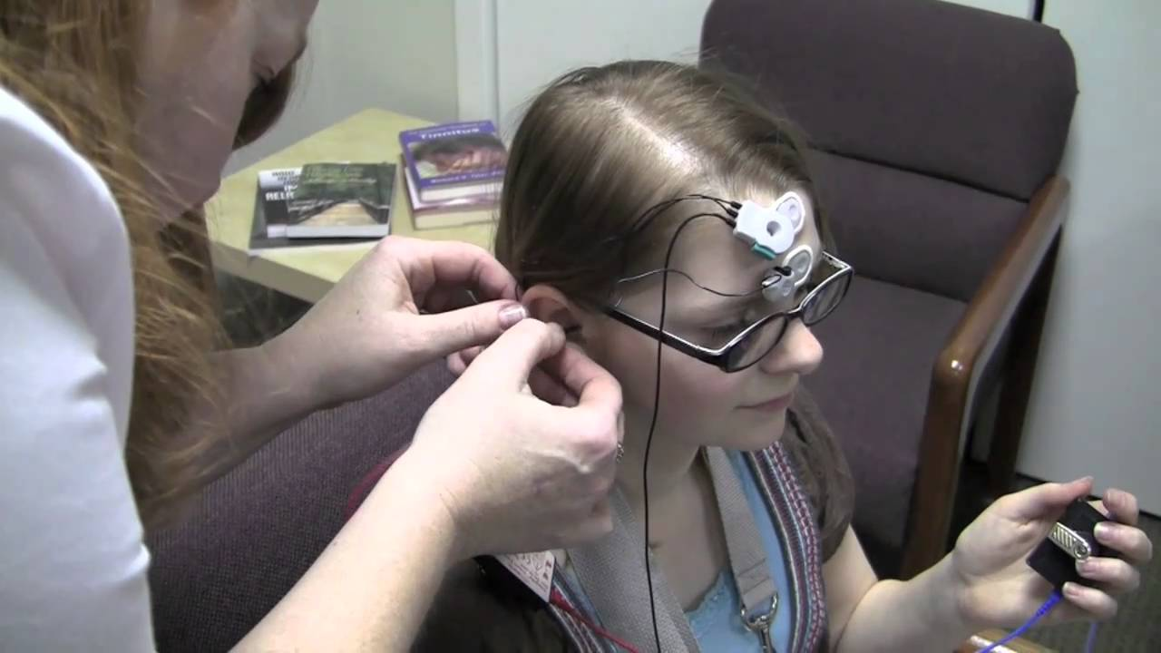 Non-Sedated ABR/BAER/OAE Hearing Testing - YouTube