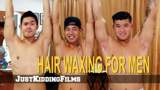 Hair Waxing for Men