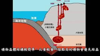 岩漿分異作用 -地球科學研究所 張英如