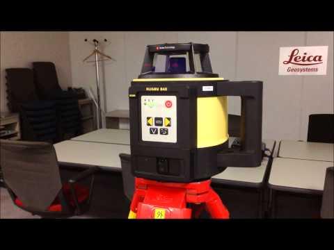 回転レーザーRugby 840: 賢くなった高さモニタリング機能 (H.I.警告機能)