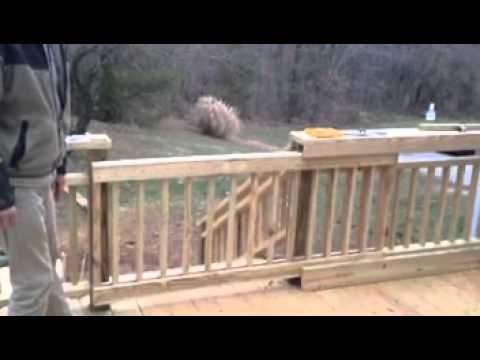 Sliding Deck Gate Youtube