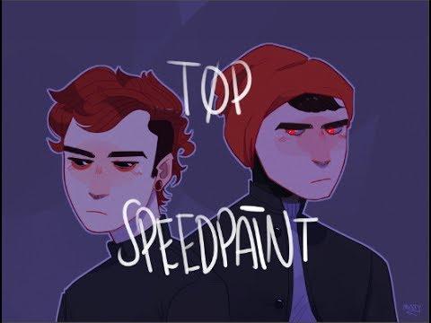 twenty one pilots  blurryface speedpaint