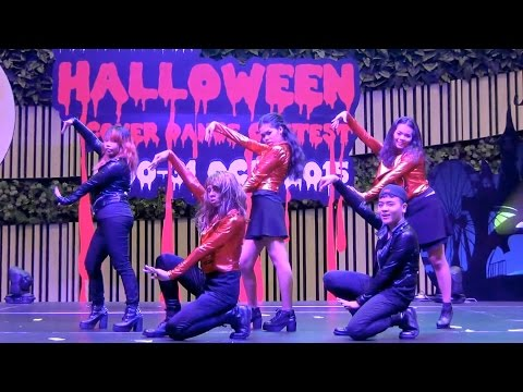 151030 The Elements cover KPOP - Intro + Catch Me If You Can @Teen Pointer Halloween 2015