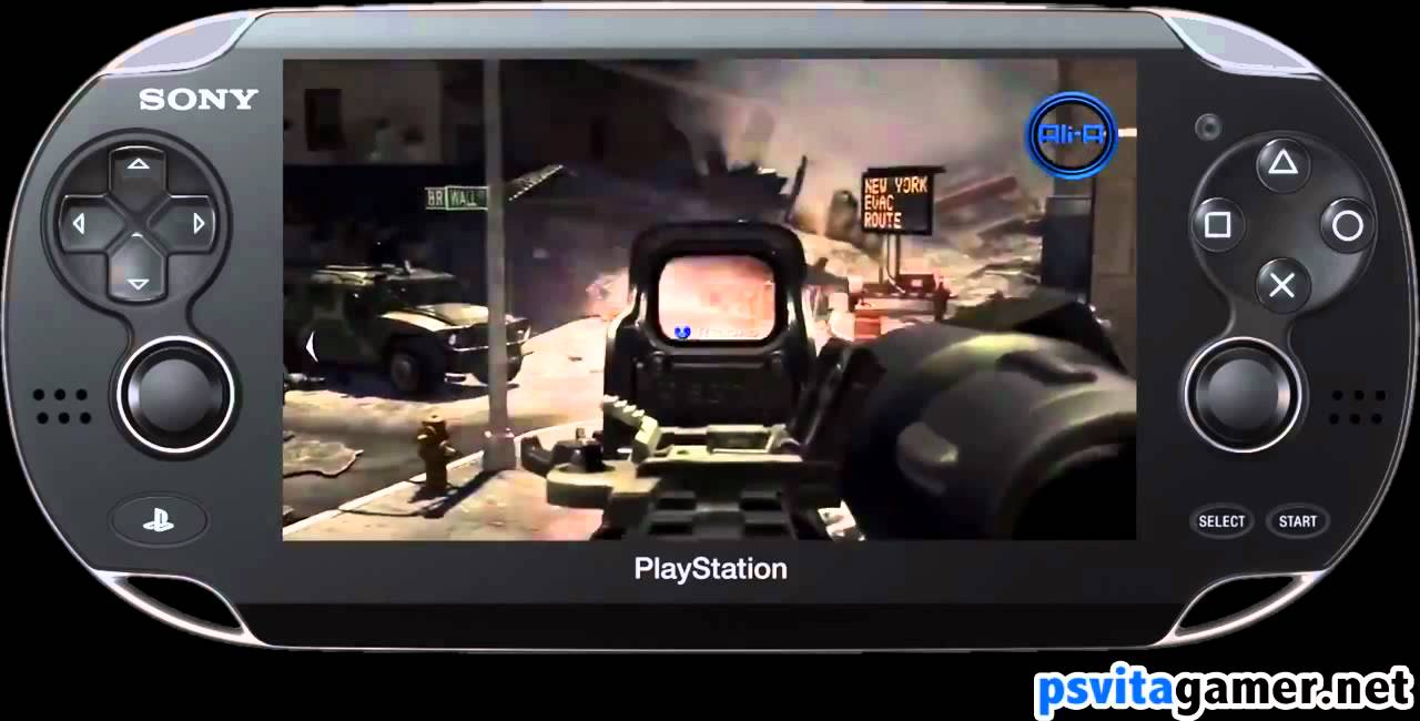 Playstation Vita Call Of Duty : Call of duty mw ps vita gameplay trailer mp youtube