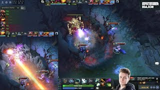 Miracle instantly kills Roshan [w/chat]
