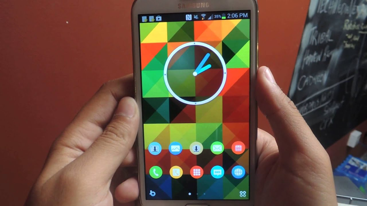 Download & Customize Home Screens Using Buzz Launcher - Samsung Galaxy Note  2 [How-To]