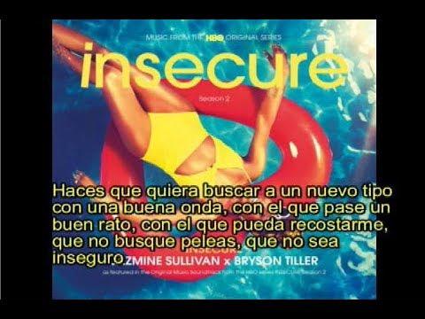 Jazmine Sullivan,Bryson Tiller- Insecure subtitulada español