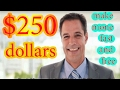 How to make mone  fast and free -  earn $250 dollars an hour WORKING 2017