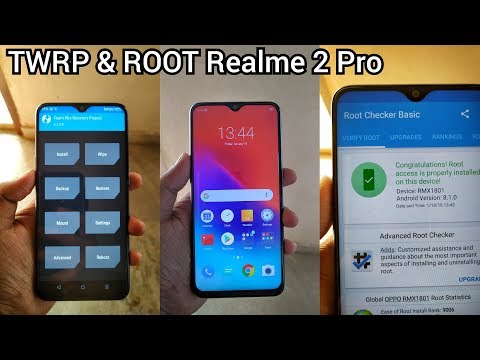 Install TWRP & Root Realme 2 Pro, Custom Recovery For Realme 2 Pro Magisk Manager,Bootloader Unlock.
