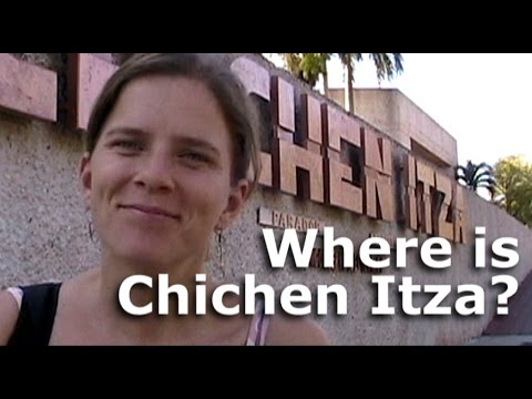 Where is Chichen Itza? and other Yucatan Tourist Attractions?