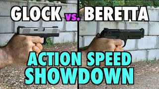 Glock vs. Beretta: Action Speed Showdown