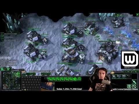 Winterstarcraft Games - INSANE Gentleman's Terran vs Terran.  Mech v Bio Grandmasters