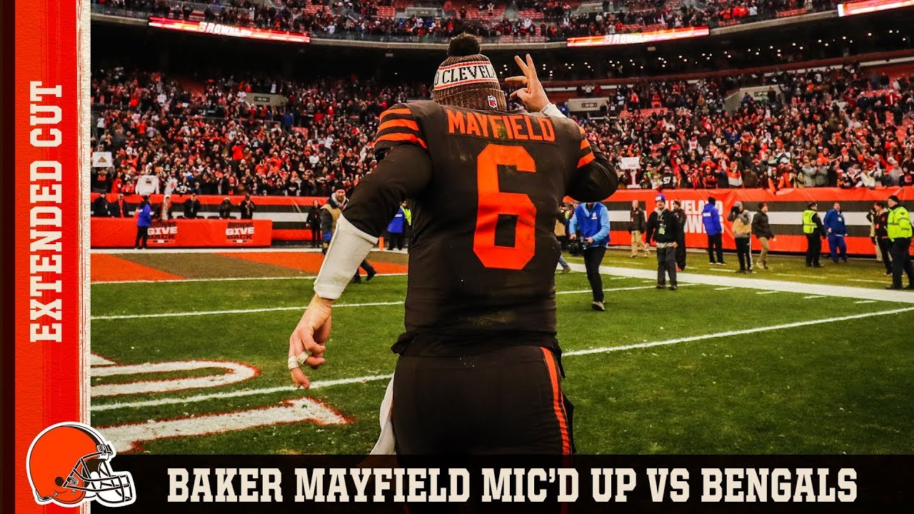 8a9f7d752 Baker Mayfield Mic d Up vs. Bengals  Extended Cut