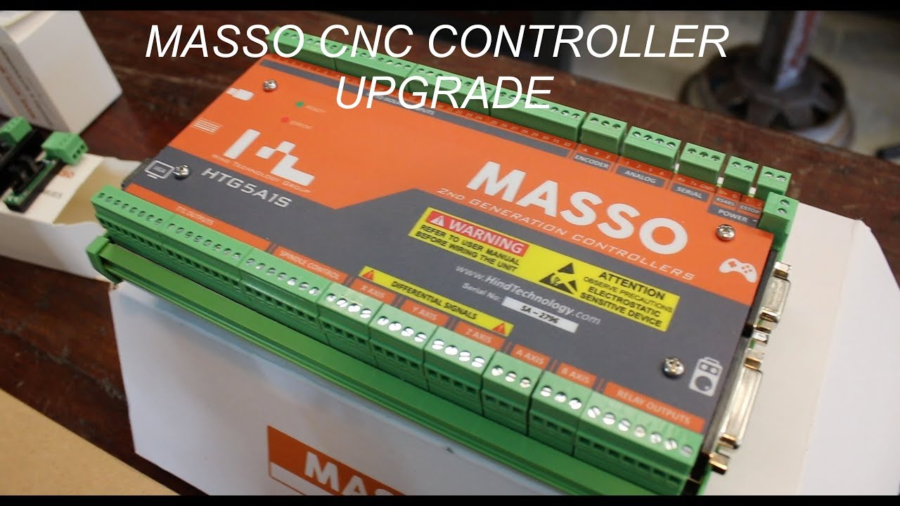 MASSO CNC Controller Upgrade - Forme Industrious