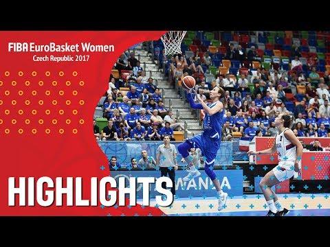 Serbia v Greece - Highlights - FIBA EuroBasket Women 2017