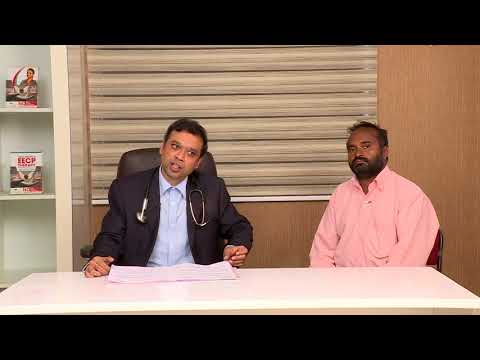 non surgical eecp treatment patient testimonial mr mohaideen healyourheart eecp treatment