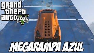 GTA V - MEGARAMPA AZUL