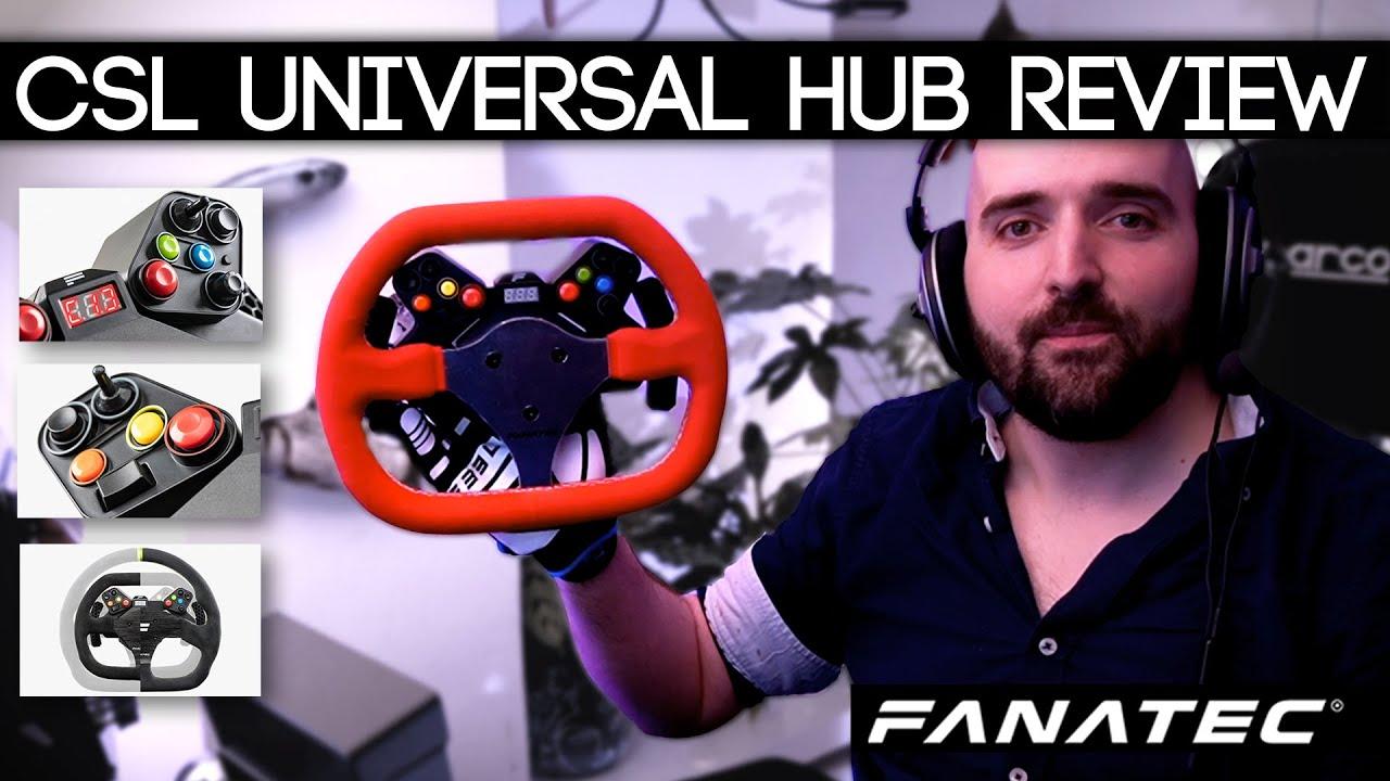 New Fanatec CSL Universal Hub Review
